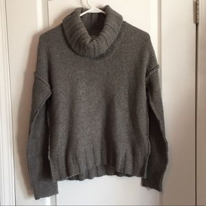 James Perse Wool Cashmere blend Gray Sweater